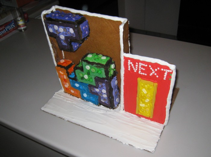 Tetris Gingerbread House