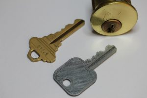 3D Printed House Key
